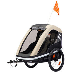 Hamax Avenida Bike Trailer beige/black
